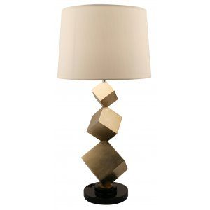 Bronze cube table lamp lampe pinterest lights and floor lamp bronze cube table lamp aloadofball Images
