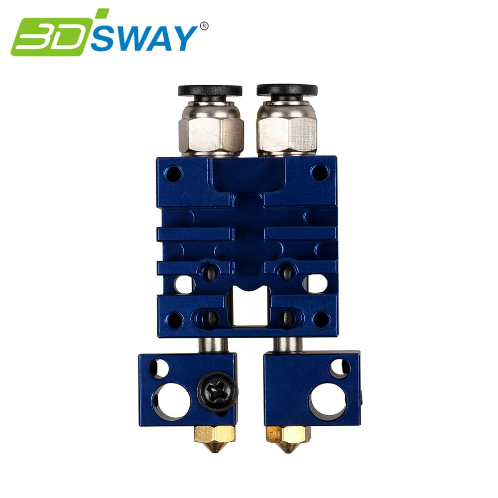 3dsway 3d Printer Parts Improved Chimera 2 In 2 Out Hotend Kit