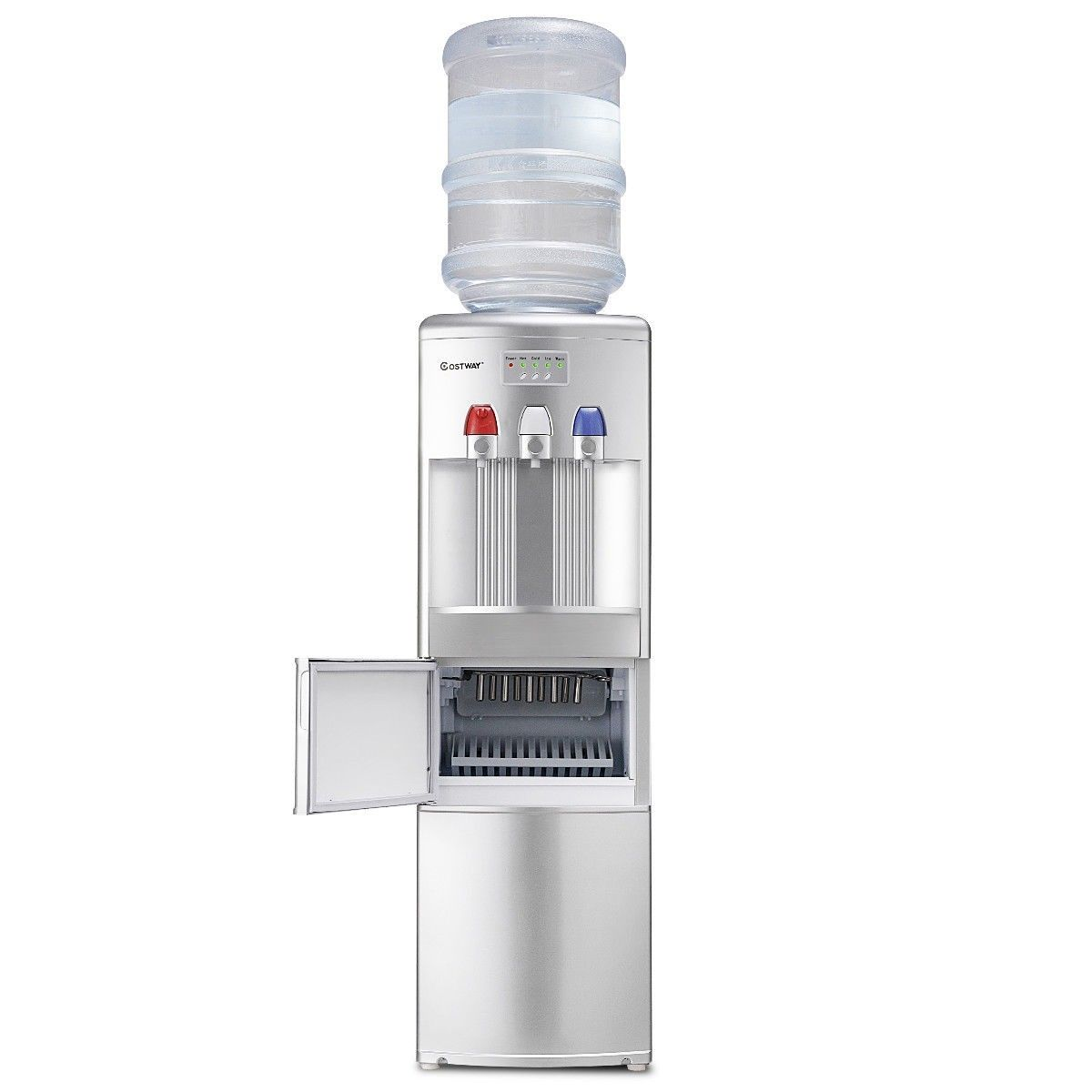Top Loading Water Dispenser With Built In Ice Maker Machine Color