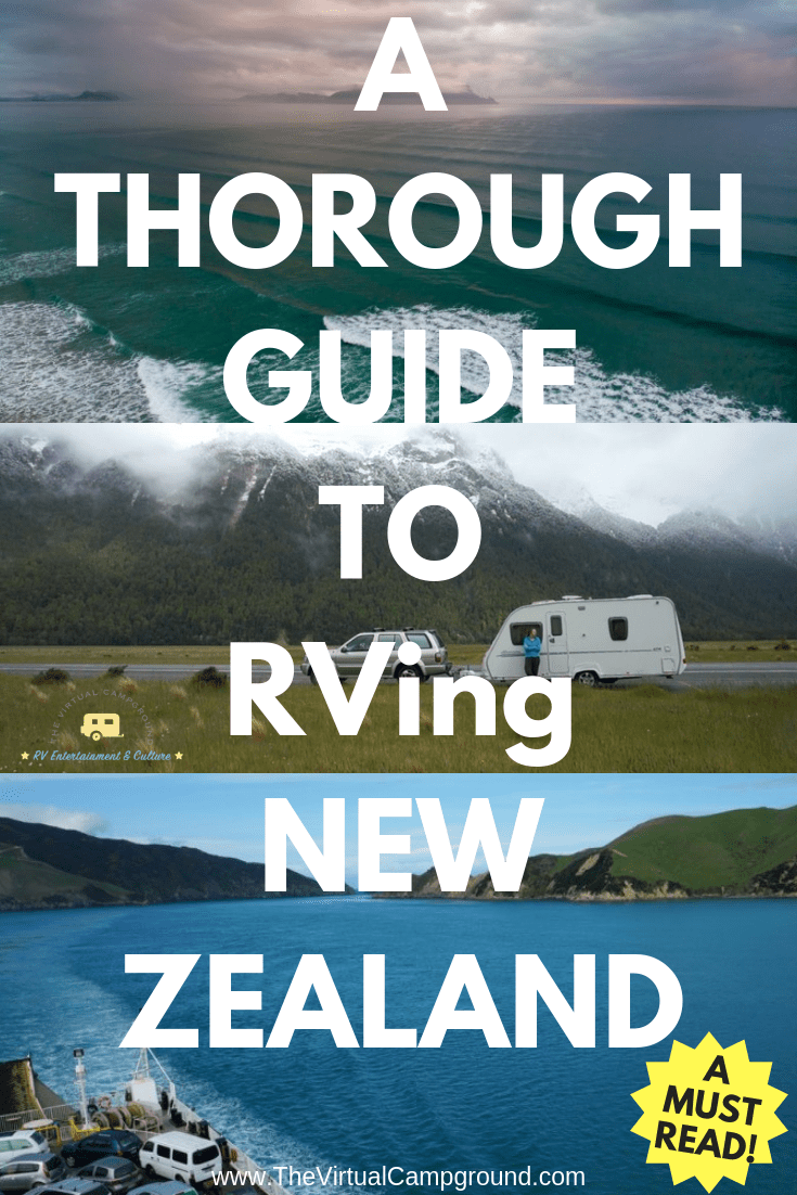 Are You Planning To Travel New Zealand In Your RV Or Motorhome Pack Camper