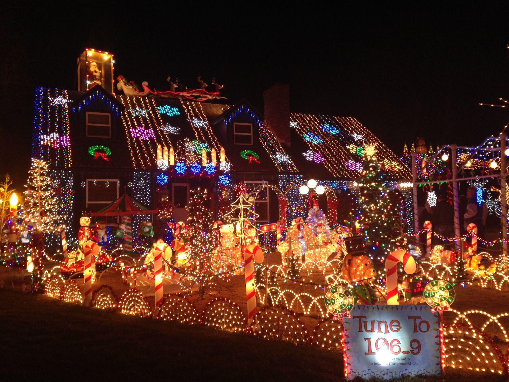 Christmas Lights In Wichita Ks.Spectacular Light Display In Wichita Local News Home