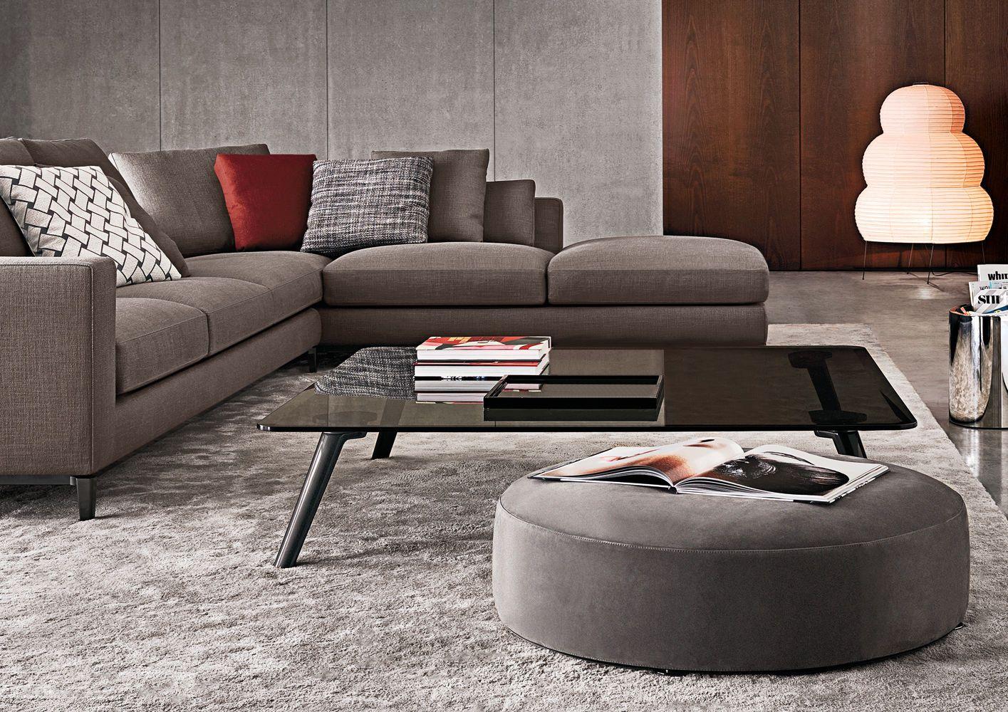 Coffee Table Triangular Round Oval Sullivan Minotti Coffee Table Contemporary Coffee Table Sofa Layout [ 1000 x 1415 Pixel ]
