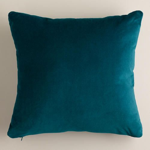 How To Wash Throw Pillows Without Removable Cover One Of My Favorite Discoveries At Worldmarket Teal Velvet Throw