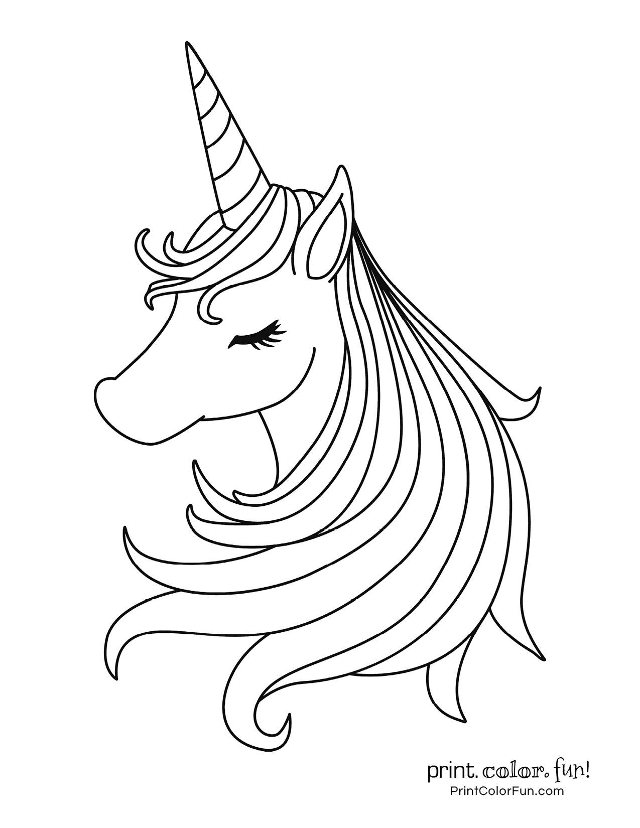 100 Magical Unicorn Coloring Pages The Ultimate Free Printable Collection At Print Colo Unicorn Coloring Pages Puppy Coloring Pages Mermaid Coloring Pages