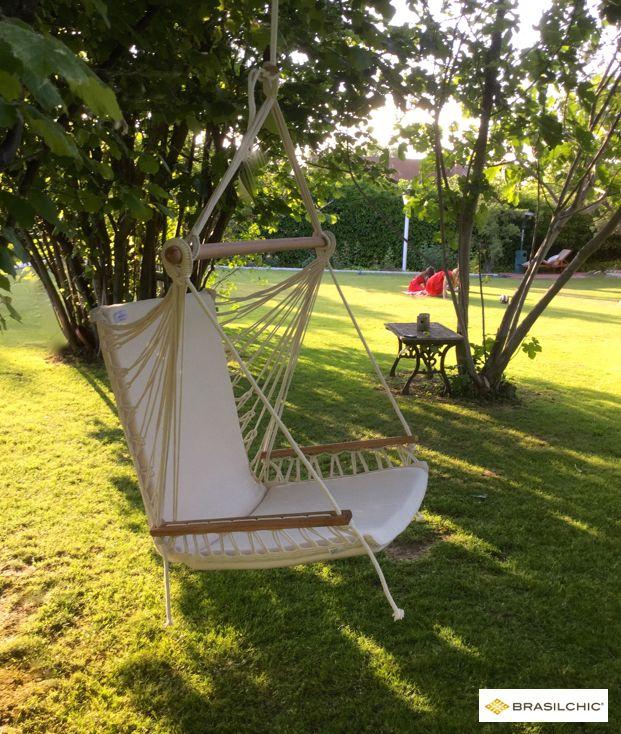 Sabías que? Las hamacas y sillas colgantes Brasilchic vienen con - hamacas colgantes