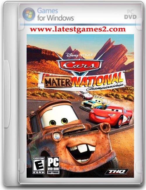 disney pixar cars mater national championship pc game