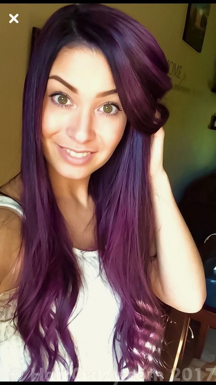 Hair image by Abigail Hair color purple, Violet hair