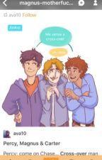 Las Crónicas de Percy Jackson y los Héroes del Olimpo de SimplyJack