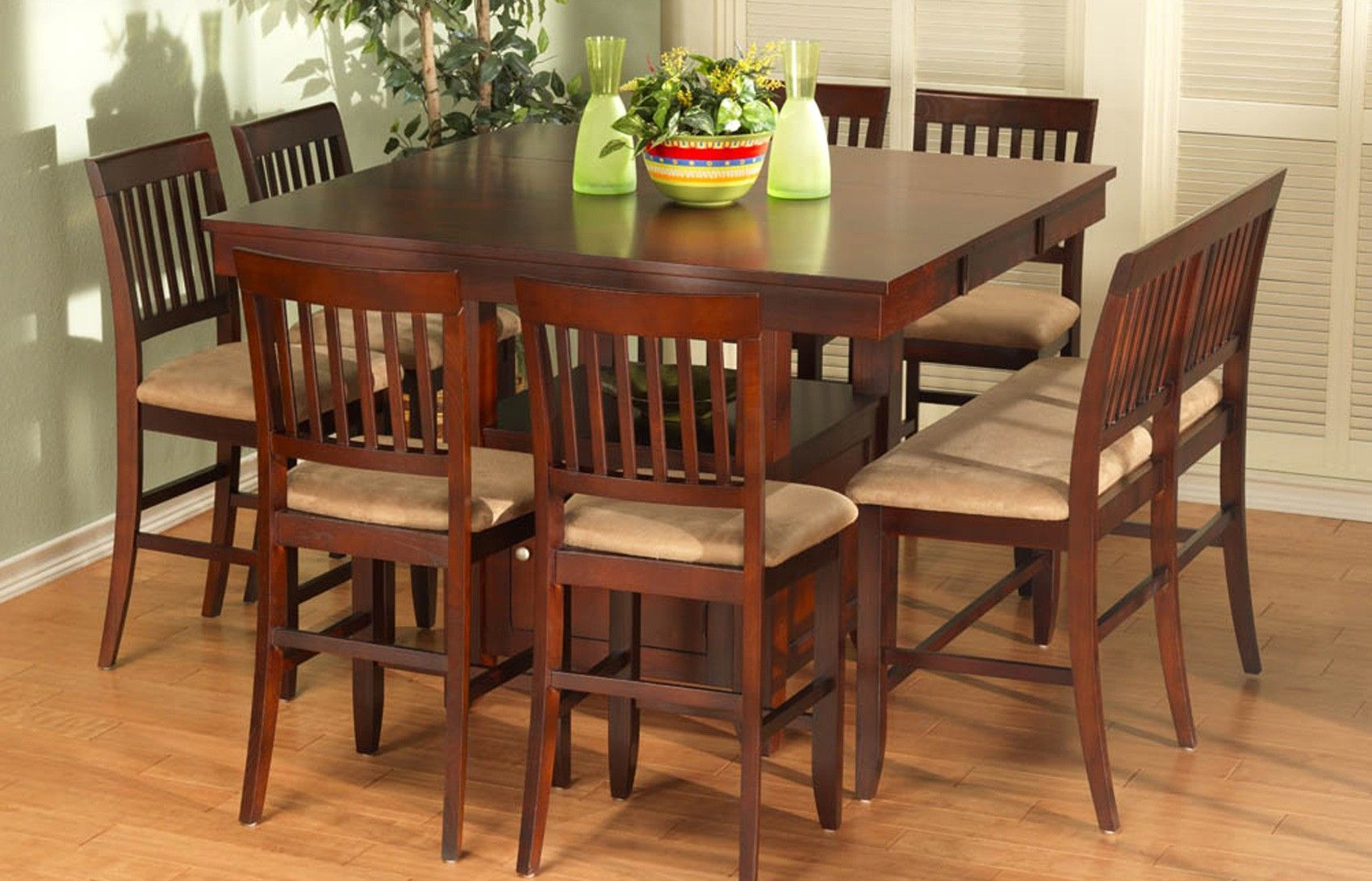 Cherry kitchen table and chairs - 17 Best Images About Counter Table Sets On Pinterest Counter Stools Saddles And Counter Height Table Sets