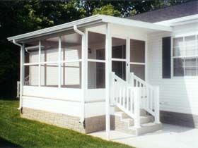 RV Sunrooms and Screenrooms | RV | Sunroom, Porch, Outdoor decor