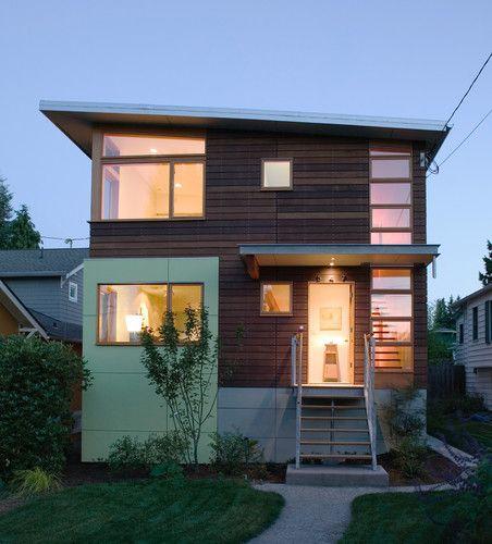 Small Modern Home Exteriors: Phinney Ridge House 2