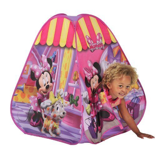 Minnie Mouse Pop Up Play Tent by Disney //.amazon  sc 1 st  Pinterest & Minnie Mouse Pop Up Play Tent by Disney http://www.amazon.co.uk ...