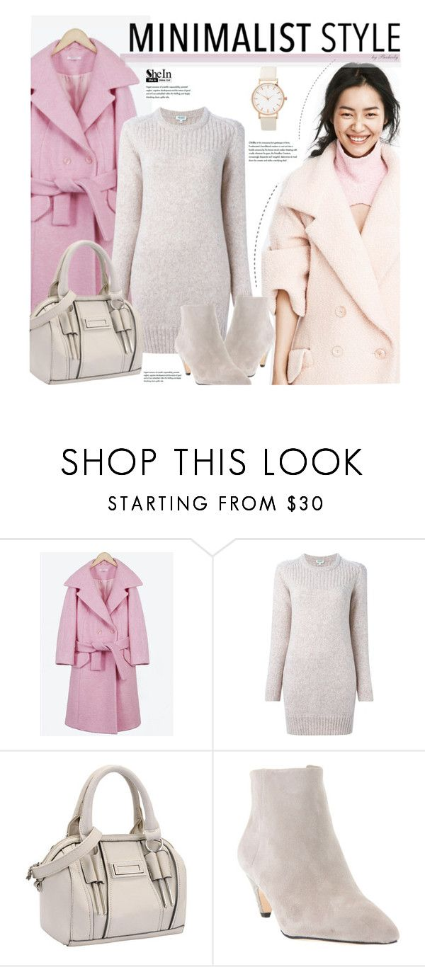 """Chic Minimalist Winter Style"" by beebeely-look ❤ liked on Polyvore featuring Kenzo, Sam Edelman, StreetStyle, Minimaliststyle and winterfashion"