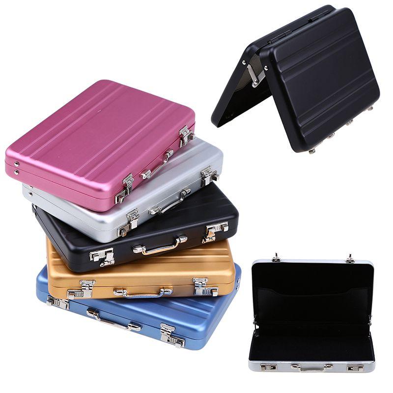 394x26 x067 mini aluminium password briefcase business id card 394x26 x067 mini aluminium password briefcase business id card case holders credit card holder storage boxes colourmoves