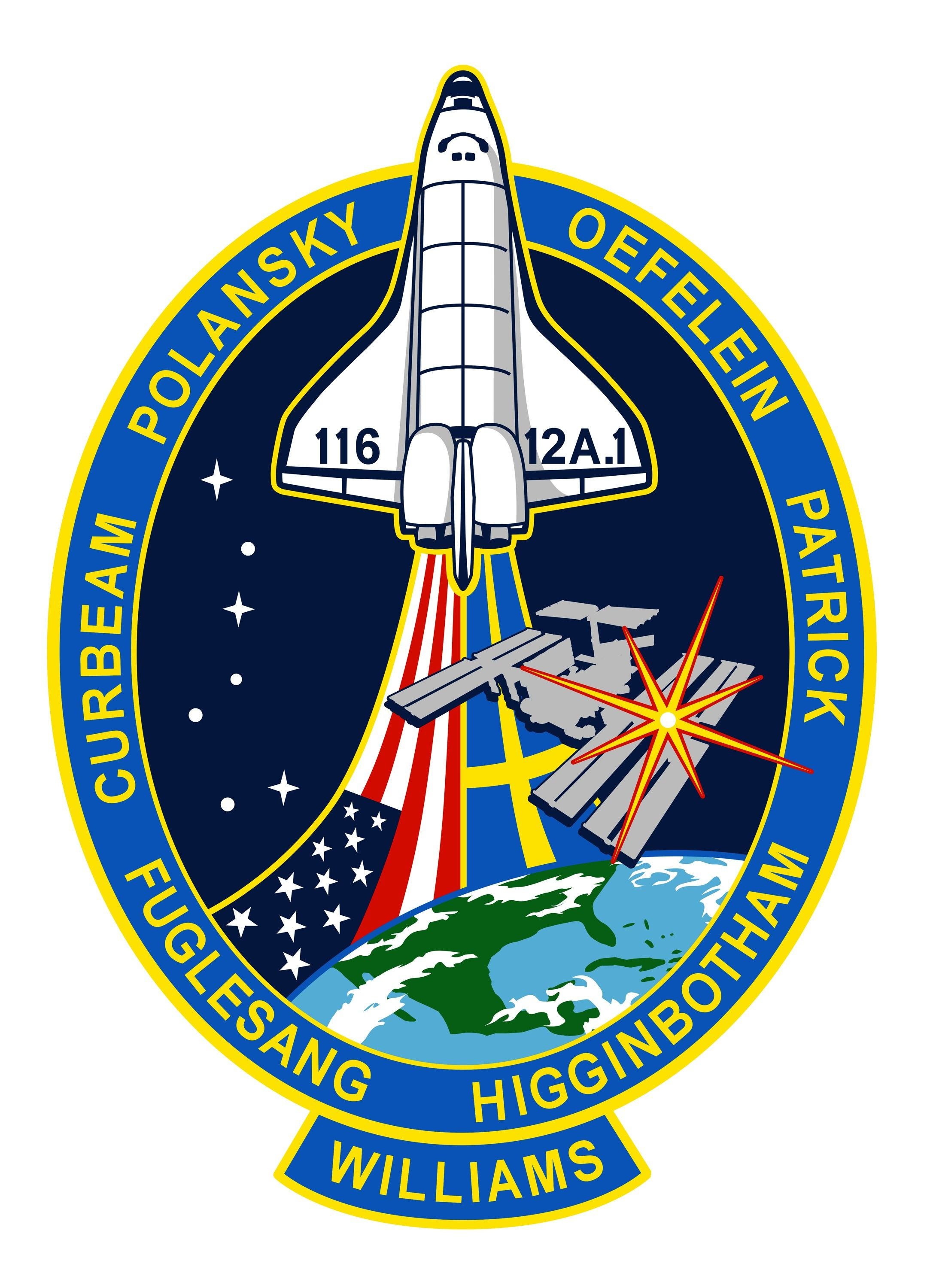 STS 116-S-001