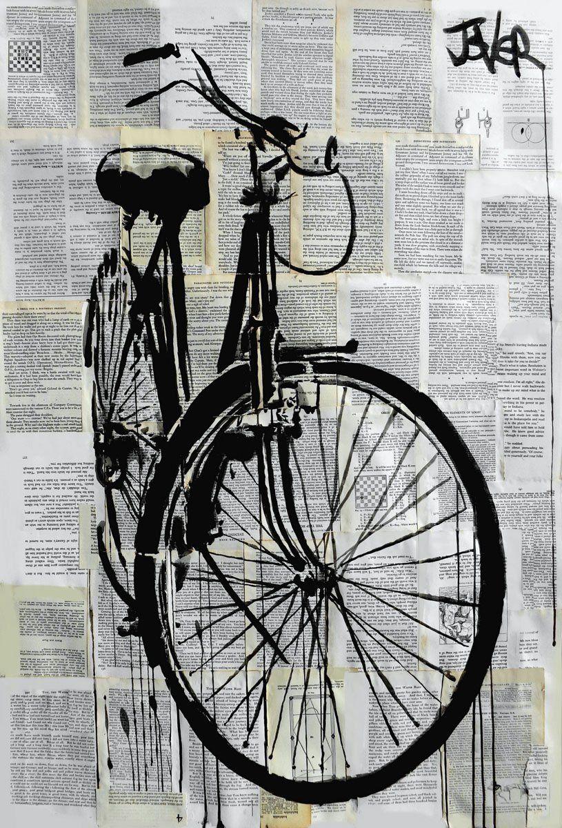 Bike Bike Art Bicycle Art Bicycle Painting