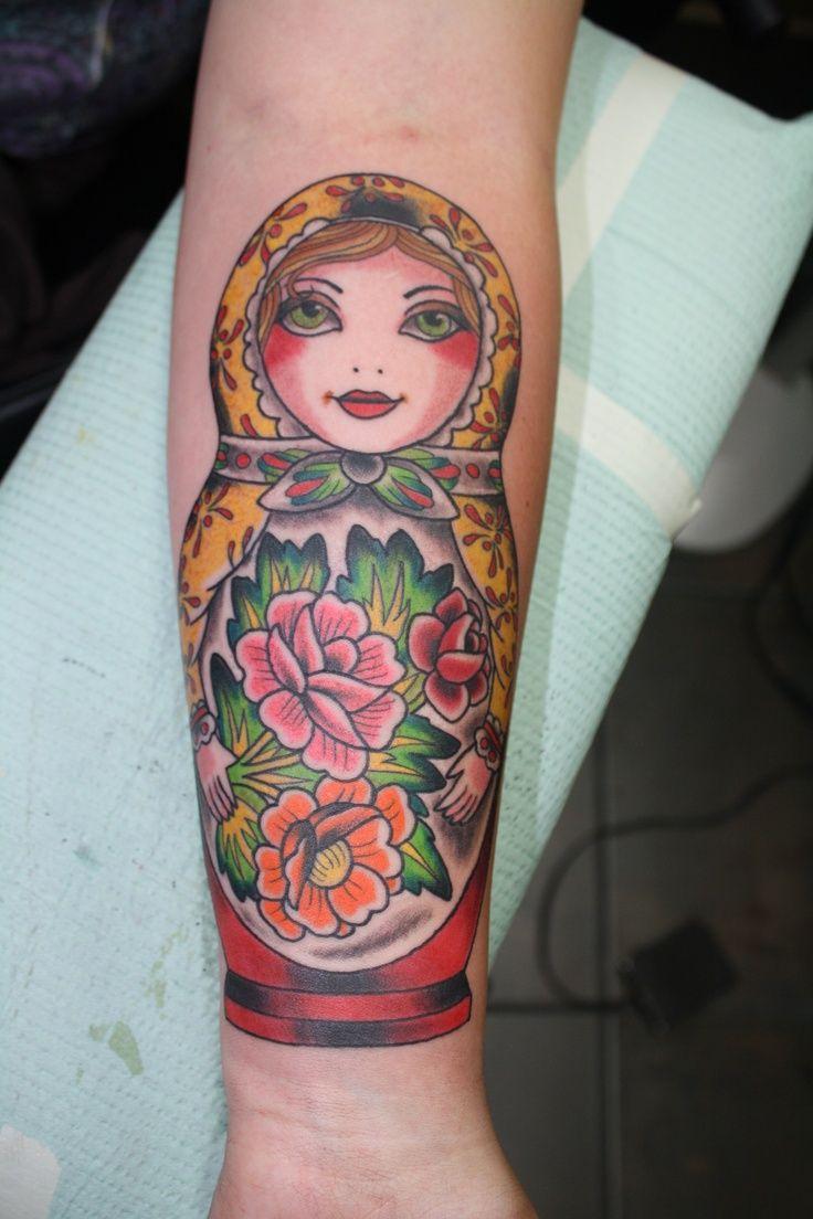 Black Baby Doll Tattoo: Matryoshka Doll Tattoo Images » Tattoo Ideas