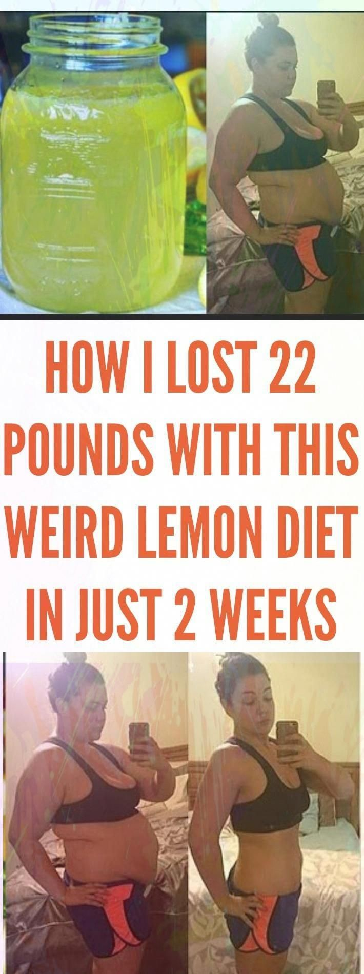 Weight Loss Tips: How I Lost 22 Pounds With This Weird Lemon Diet in Just 2 Weeks#health #fitness #h...