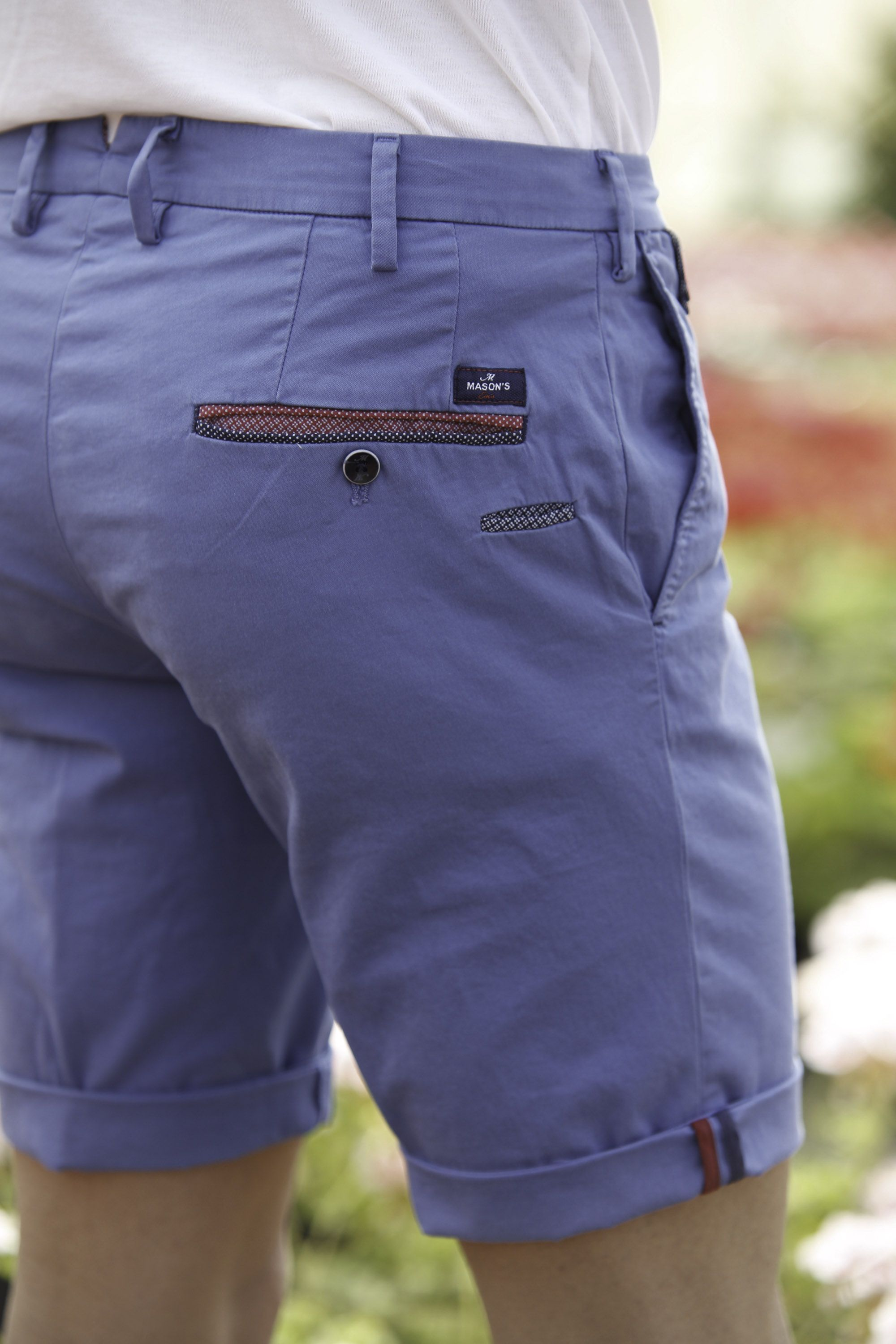 Mason's Man Short Model Torino Color - Masons
