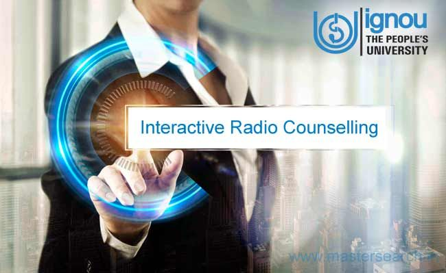 Ignou Interactive Radio Counseling Irc On Gyanvani Delhi
