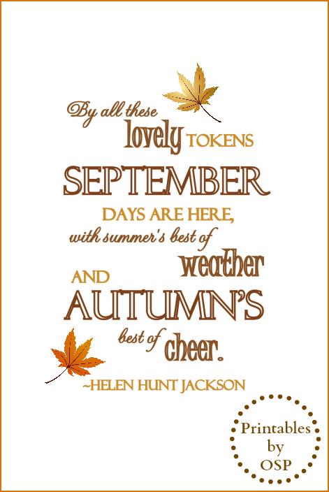 30 Free Fall Autumn Original Printables Free printables
