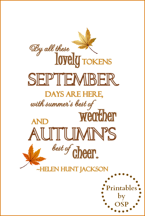 graphic regarding Printable Fall Decorations named 30 Cost-free Tumble Autumn Authentic Printables Drop ~ Decorating