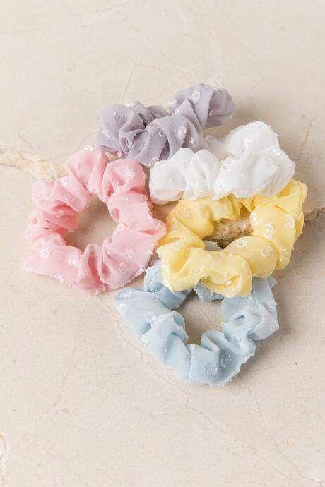 francesca's Blakely Pastel Scrunchie Set - Multi ...