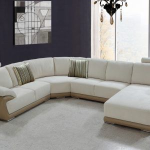 5pc New Modern Microfiber Big Sectional Sofa Set | Modern sofa sets ...