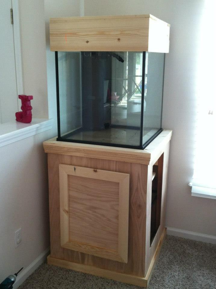 60g deep blue cube build 3reef reef aquarium forum http for Fish tank fireplace