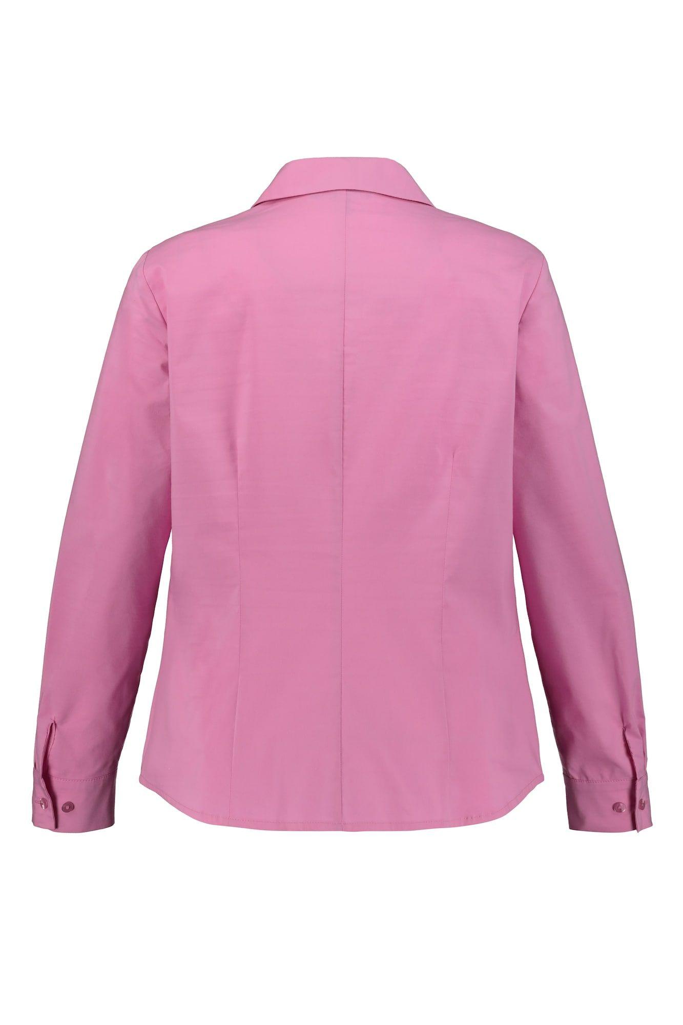 Ulla Popken Bluse Damen Große Größen Pink Größe M