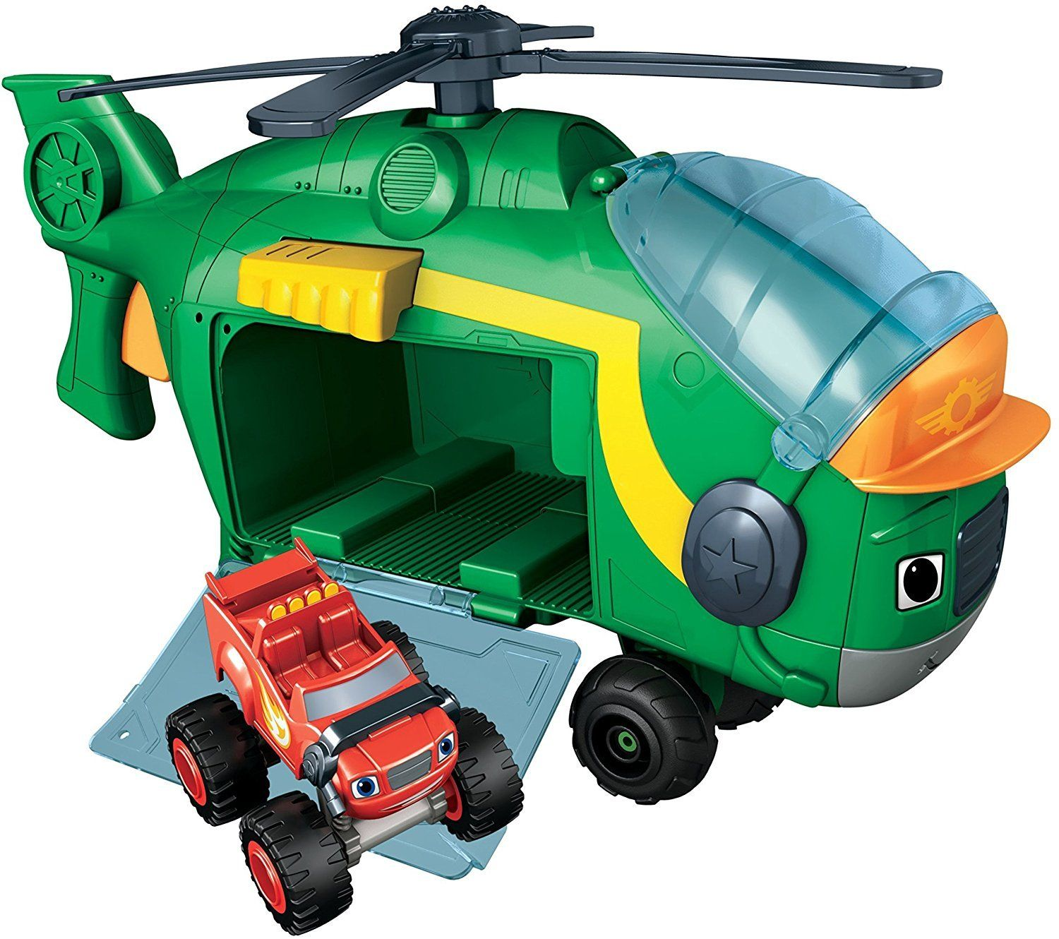 Blaze The Monster Machines Monster Copter Swoops Helicopter