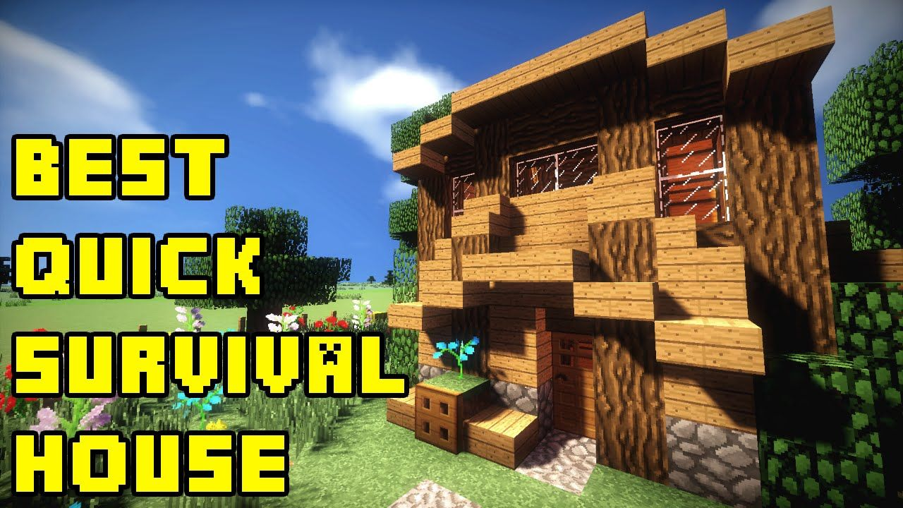Minecraft: Best Quick Survival House Build Tutorial Xbox/PE/PC/PS3/PS4