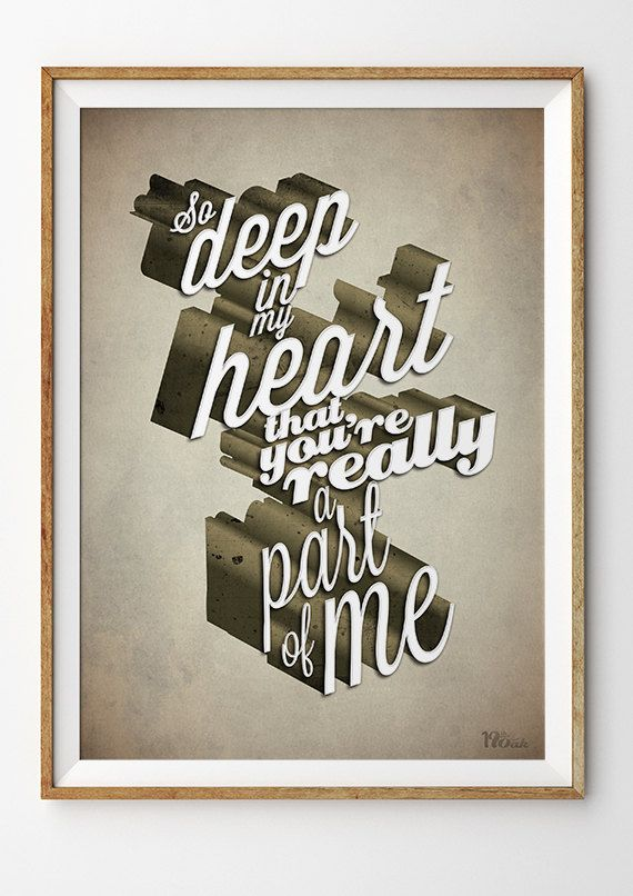 Frank Sinatra Song Lyric Art Print 39 A Part Of Me 39 Typography Music Poster Inspired By I 39 Ve Got You Under M Song Lyrics Art Lyric Art Music Poster
