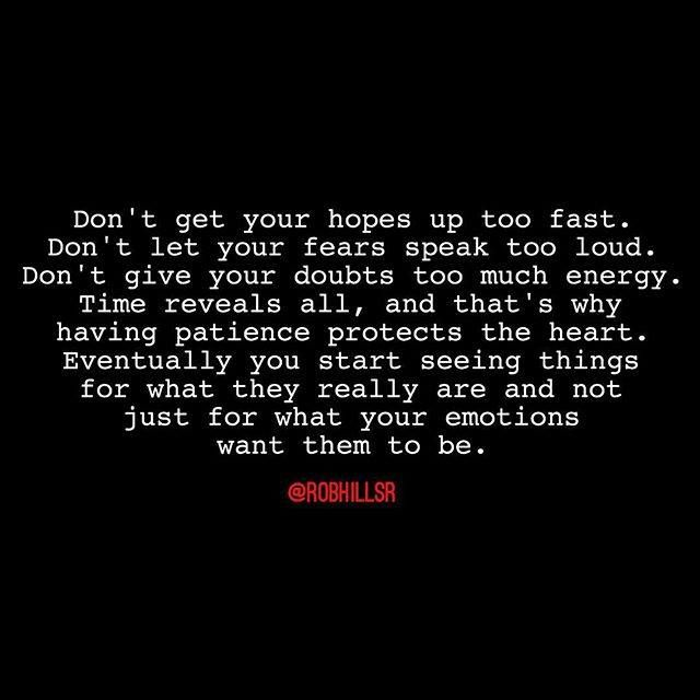 Depression Quotes Youtube: Time Reveals All, And That's Why Having Patience Protects