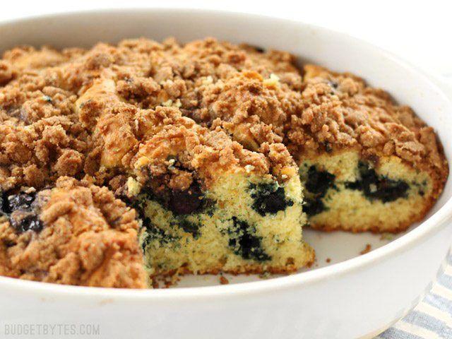 Blueberry Buttermilk Coffee Cake Recipe Budget Bytes Recipe Buttermilk Coffee Cake Coffee Cake Recipes Blueberry Buttermilk Coffee Cake Recipe