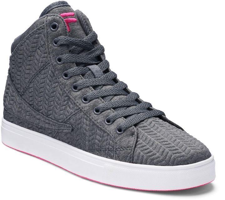 FILA® Smokescreen 2 Women's Chevron High Top Sneakers