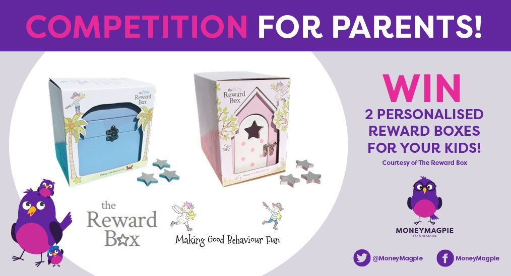 This week we're giving one lucky reader the chance to win two 'Reward Boxes' - the perfect keepsake gift to 'Make Good Behaviour Fun'