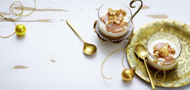 Weißes Schokoladen-Parfait Rezept