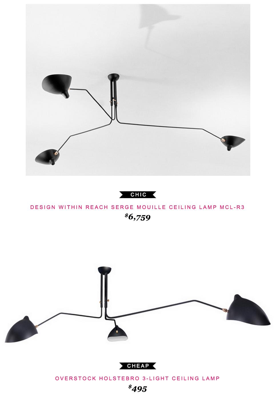 Serge mouille ceiling lamp mcl r3 part 2 6350 vs overstock serge mouille ceiling lamp mcl r3 part 2 6350 vs overstock holstebro 3 light arubaitofo Images