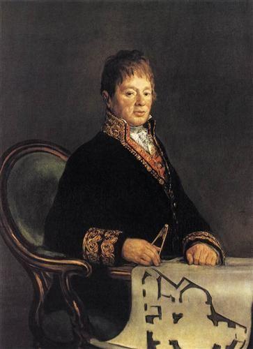 Don Juan Antonio Cuervo  - Francisco de Goya