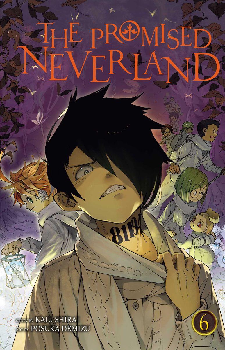 The Promised Neverland Manga Volume 6 Neverland, Manga