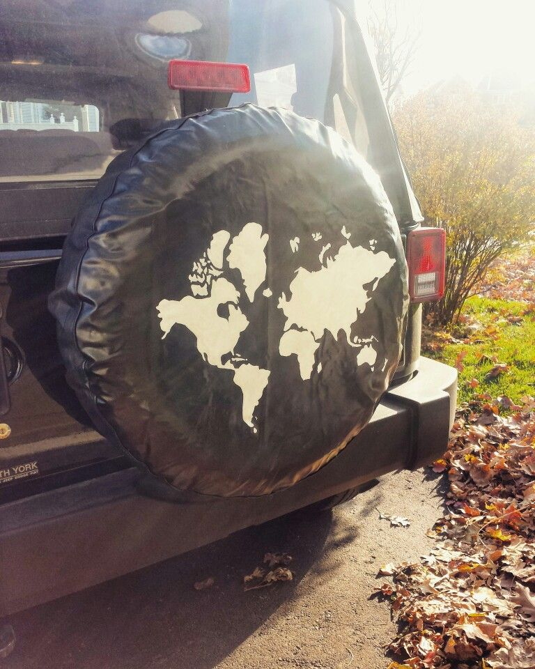 Jeep Tire Cover Map Of The World Jeep Tire Cover Jeep Cars Jeep Wrangler Tire Covers