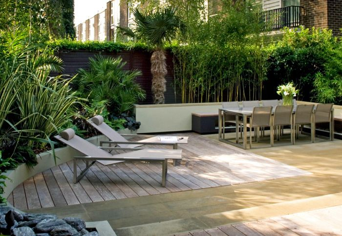 Easy Low Maintenance Modern Backyard Ideas For Creating - Contemporary garden ideas uk
