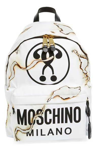 796c8094ee Moschino 'It's Lit' Nylon Backpack available at #Nordstrom ...