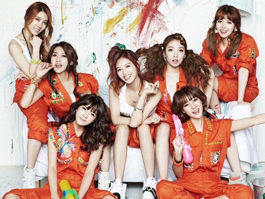 Rainbow Kpop Girls Kpop Girl Groups Rainbow
