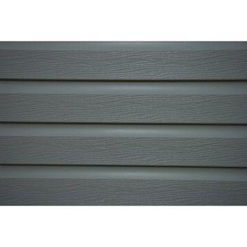 clin en pvc solid gris long utile bardage. Black Bedroom Furniture Sets. Home Design Ideas