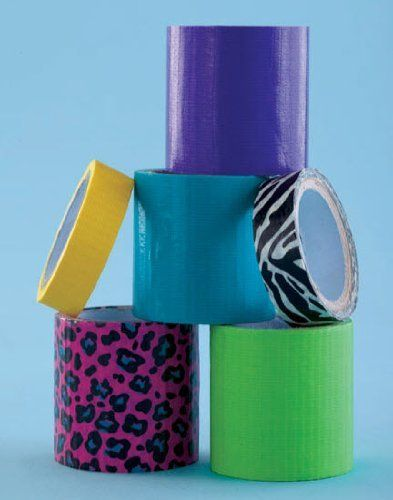 Cool Colors Duct Tape Gift Set for Crafts (6 rolls ...