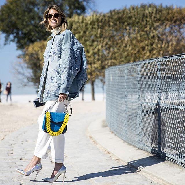 Fashion Week Bag Game Helenabordon Loewe V Celebrity