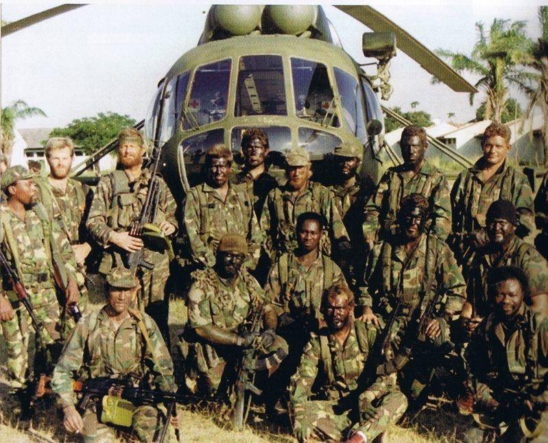 Members of Executive Outcomes, Africa. | Sierra leone civil war, Private  military company, Sierra leone