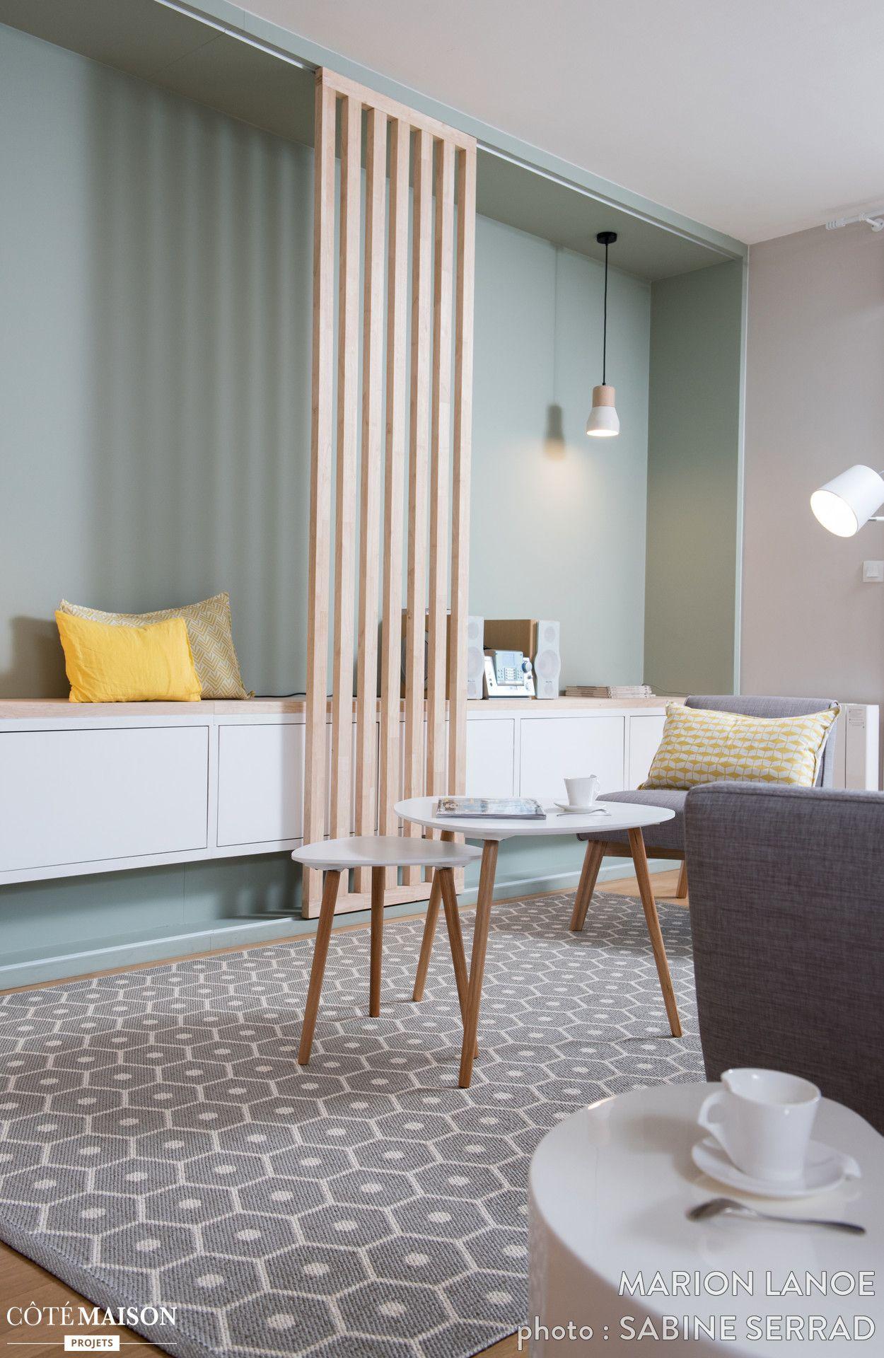 Beautiful Ambiance Scandinave Dans Une Pièce à Vivre à Lyon, Marion Lanoë   Côté  Maison